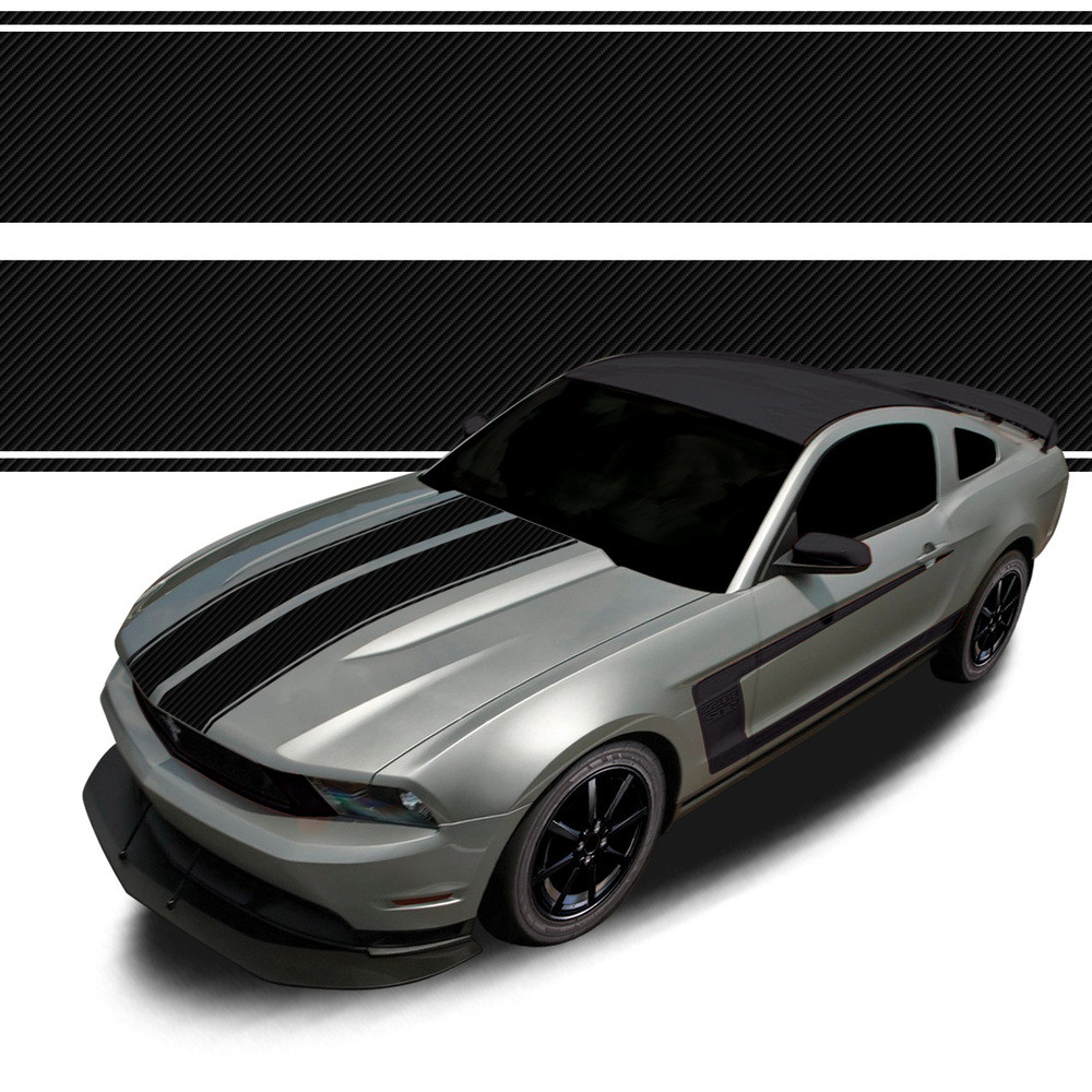 af4c0037f4b RACING STRIPES : Automotive Vinyl Graphics and Decals Kit - Shown on FORD  MUSTANG