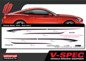 FORD MUSTANG MARIAH KIT : Automotive Vinyl Graphics Shown on 2015 Ford Mustang ( M-VS161)
