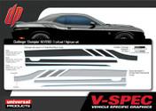 DODGE CHALLENGER CHAMPION KIT : Automotive Vinyl Graphics Shown on 2015 Dodge Challenger (M-VS163)