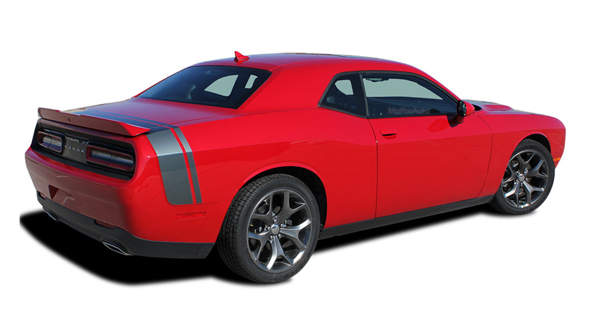 2015 2016 2017 Dodge Challenger Hood to Fender Side Stripes Decals bee Rally