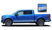 F-150 ROCKER ONE : Ford F-150 Lower Rocker Panel Stripes Vinyl Graphics and Decals Kit for 2015 2016 2017 2018 2019 F-Series Models (M-PDS3524)