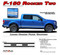 F-150 ROCKER TWO : Ford F-150 Lower Rocker Panel Stripes Vinyl Graphics and Decals Kit for 2015, 2016, 2017, 2018, 2019, 2020 F-Series Models (M-PDS3526) - DETAILS