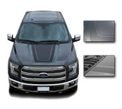 "Ford F-150 ""Tremor FX Appearance Package Style"" Hood Vinyl Graphics and Decals Kit! Ready to install for your F-150 Ford Truck for 2009 2010 2011 2012 2013 2014 and 2015 2016 2017 2018 2019 Models. Professional ""OEM Style"" and Design! For Automotive Restylers and Dealers!"