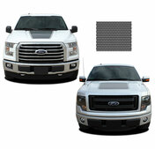 "FORCE HOOD Screen Print : Ford F-150 ""Appearance Package"" Hood Vinyl Graphic Kit for 2009-2014 and 2015, 2016, 2017, 2018, 2019, 2020 Models (M-PDS3519)"