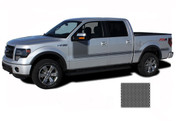 "FORCE ONE Screen Print : Ford F-150 Hockey Stripe ""Appearance"" Style Vinyl Graphics and Decals Kit for 2009-2014 and 2015, 2016, 2017, 2018, 2019, 2020 Models (M-PDS3515)"