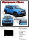 2014-2018 2019 RENEGADE HOOD : Jeep Renegade Hood Vinyl Graphics Decal Stripe Kit (M-PDS3671) - Details