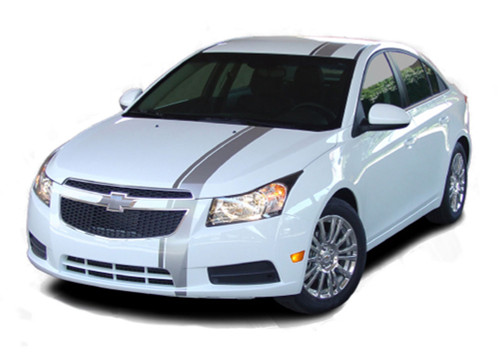 E-RALLY : Chevy Cruze Euro Racing Stripes 2011 2012 2013 2014 Vinyl Graphics and Decals (M-PDS-1681-1718)