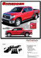 SHREDDER : 2014 2015 2016 2017 Toyota Tundra Crew Max 5.5 ft Short Bed Vinyl Graphic Decal Kit (M-EE3673.74) - DETAILS