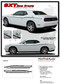 "Challenger SXT SIDE STRIPE : Factory OEM ""SXT Style"" Side Vinyl Stripes for 2011-2017 2018 2019 Dodge Challenger (M-PDS3745) - DETAILS"