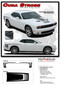 "Challenger CUDA STROBE : Factory OEM ""Cuda Style"" Hood and Side Vinyl Stripes for 2008-2010 2011 2012 2013 2014 2015 2016 2017 2018 2019 Dodge Challenger (M-PDS3740.44) - DETAILS"
