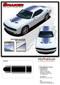 "Challenger SHAKER : Factory OEM ""Shaker Style"" Hood Roof Trunk Vinyl Rally Stripes for 2015, 2016, 2017, 2018, 2019, 2020 Dodge Challenger - DETAILS"