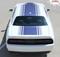 """Challenger SHAKER : Factory OEM """"Shaker Style"""" Hood Roof Trunk Vinyl Rally Stripes for 2015, 2016, 2017, 2018, 2019, 2020 Dodge Challenger - CUSTOMER PHOTO 6"""