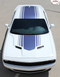 """Challenger SHAKER : Factory OEM """"Shaker Style"""" Hood Roof Trunk Vinyl Rally Stripes for 2015, 2016, 2017, 2018, 2019, 2020 Dodge Challenger - CUSTOMER PHOTO 5"""