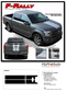F-150 F-RALLY : Ford F-150 Split Center Racing Stripes Vinyl Graphics and Decals Kit for 2015-2017 2018 2019 Models (M-PDS3822) - Details