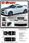 """2016 2017 2018 Camaro C-SPORT : Chevy Camaro """"OEM Factory Style"""" Vinyl Graphics Racing Stripes Rally Decals Kit (fits SS, RS, V6 MODELS) - Details"""