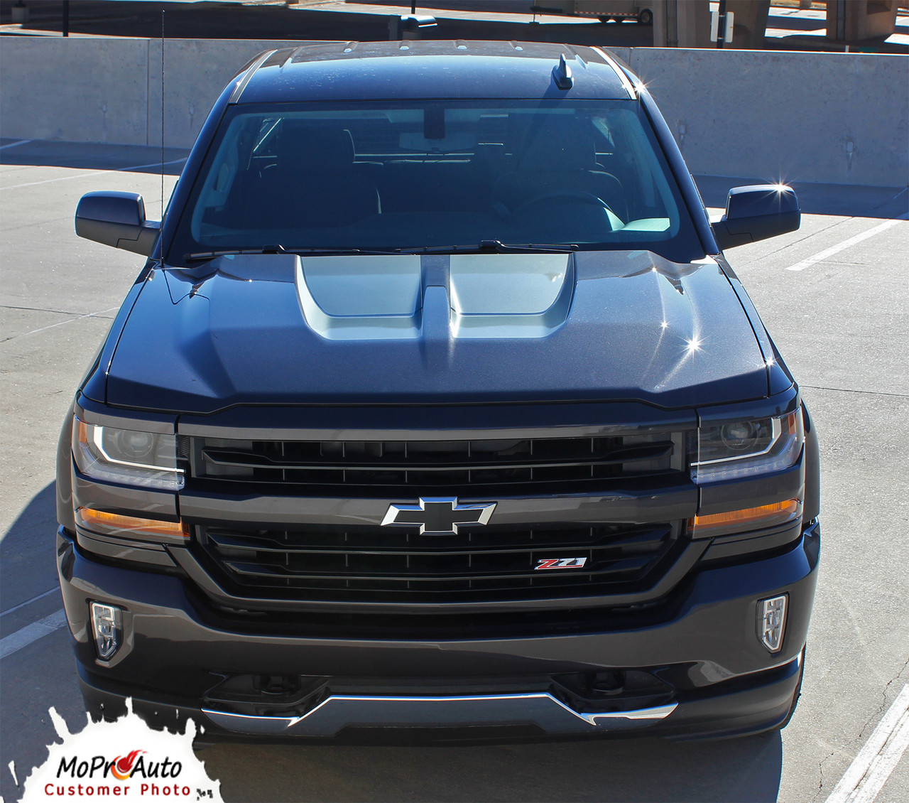 519f098490 ... STERLING RALLY   2016 2017 2018 Rally Edition Style Chevy Silverado Vinyl  Graphic Decal Racing Stripe ...