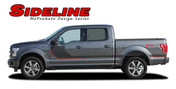 "SIDELINE : Ford F-150 ""Special Edition Appearance Package Style"" Hockey Stripe Vinyl Graphics Decals Kit for 2015-2016 Models (M-PDS3823)"