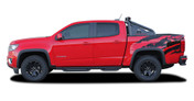 ANTERO : 2015 2016 2017 2018 2019 Chevy Colorado Rear Truck Bed Accent Vinyl Graphic Package Decal Stripe Kit (M-PDS-4151)