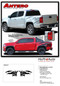 ANTERO : 2015 2016 2017 2018 2019  Chevy Colorado Rear Truck Bed Accent Vinyl Graphic Package Decal Stripe Kit  - Details
