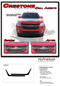 CRESTONE : 2015 2016 2017 2018 2019  Chevy Colorado Front Grill Accent Vinyl Graphic Package Decal Stripe Kit - Details
