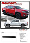 RAMPART : 2015 2016 2017 2018 2019  2020 2021 Chevy Colorado Lower Rocker Panel Accent Vinyl Graphic Package Factory OEM Style Decal Stripe Kit - Details