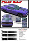Challenger PULSE RALLY : Strobe Style Hood to Trunk Vinyl Graphic Racing Rally Stripes for 2008, 2009, 2010, 2011, 2012, 2013, 2014, 2015, 2016, 2017, 2018, 2019, 2020 Dodge Challenger (M-PDS4250) - Details