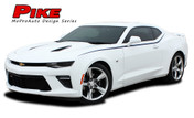 2016 Camaro PIKE : Chevy Camaro Upper Door to Fender Accent Vinyl Graphics Decals Kit (fits SS, RS, V6 MODELS) (M-PDS3961)