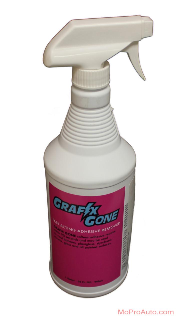 Grafix Gone Adhesive Remover Vinyl Graphics Installation