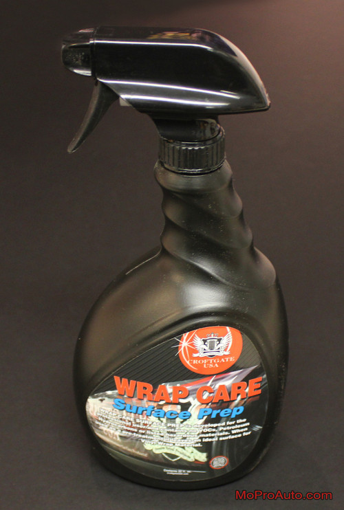 WRAP CARE SURFACE PREP Vinyl Clean and Prep (32 oz) by Croftgate : Vinyl Graphics Installation (M-PDS-2543)