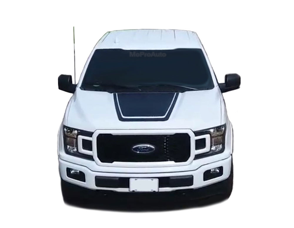 Lead Hood Ford F 150 Hood Decals Special Edition Stripes Lead Foot Appearance Package Vinyl Graphics 2015 2016 2017 2018 2019