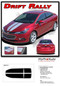 DRIFT RALLY : Chevy Cruze Racing Stripes 2017-2019 Hood Trunk Vinyl Graphics Decals Kit (M-PDS-5110) - Details