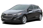 OVERPASS : Chevy Cruze Stripes Upper Door Accent Decals 2017-2019 Vinyl Graphics Hatchback or Coupe Kit (M-PDS-5104)