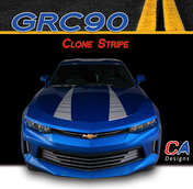 2016-2018 Chevy Camaro Hood Clone Stripe Vinyl Graphic Decal Kit (M-GRC90)