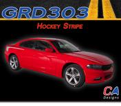 2015-2018 Dodge Charger Stripes Decals Hockey Stripe Quarter Panel Accent Vinyl Graphic Kit (M-GRD303)