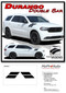 DURANGO DOUBLE BAR : 2011-2020 Dodge Durango Hood Hash Marks Stripes Decals Vinyl Graphics Kit - Details