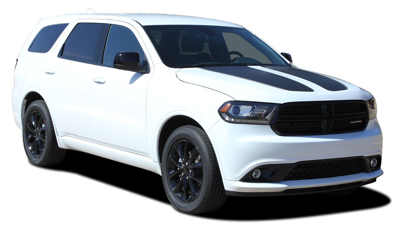 Fits Dodge Durango 2011-2018 Vinyl Black Carbon Fiber Pillar Posts Trim