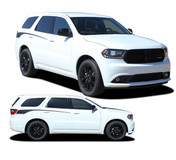 PROPEL SIDES : 2011 2012 2013 2014 2015 2016 2017 2018 2019 Dodge Durango Rear Quarter Accent Stripes Decals Vinyl Graphics Kit (M-PDS-5522)