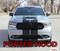 DURANGO RALLY : 2014-2020  Dodge Durango Racing Stripes Decals Vinyl Graphics Kit - PORTED HOOD