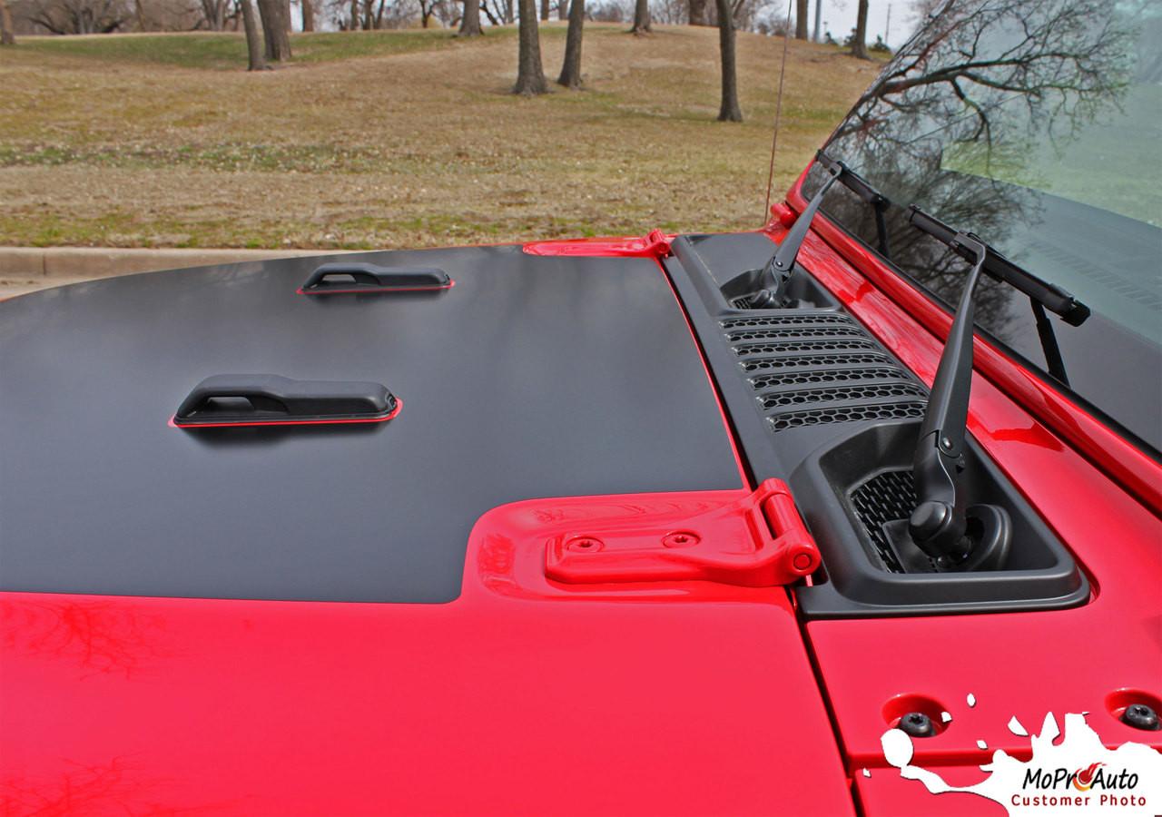 Jeep Sport Hood Jeep Wrangler Jl Hood Vinyl Graphics