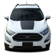 AMP HOOD : Ford EcoSport Hood Decal Stripe Vinyl Graphic Kit for 2013-2021 (M-PDS-5949)