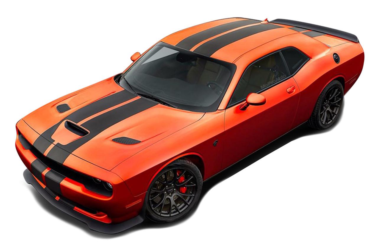 Hellcat Challenger For Sale >> Dodge Challenger Racing Stripes SRT HELLCAT RALLY : Vinyl ...