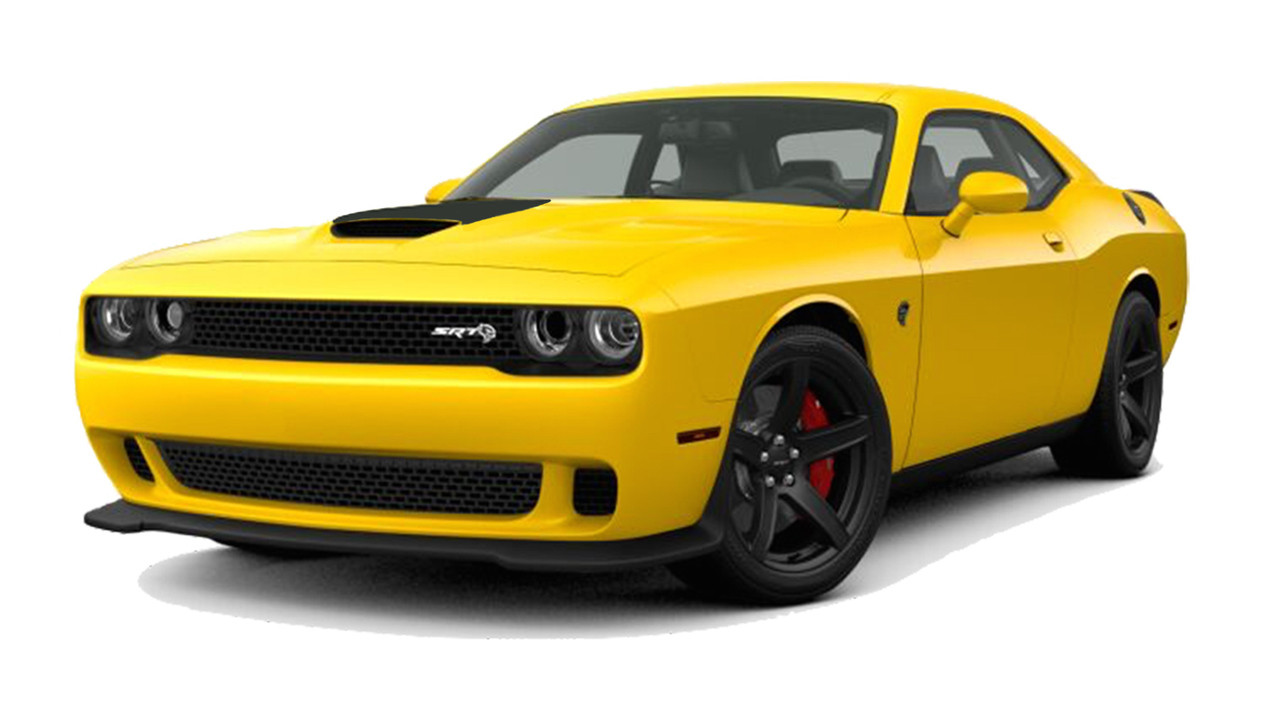 Dodge Challenger Srt Hellcat Hood Decal Vinyl Graphics Stripe Fits 2015 2018