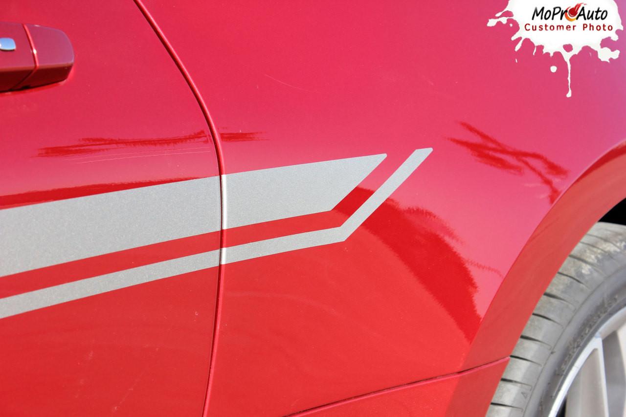2019 2020 Chevy Camaro Side Body Decals, Camaro Door Stripes, Camaro Vinyl Graphics Kits