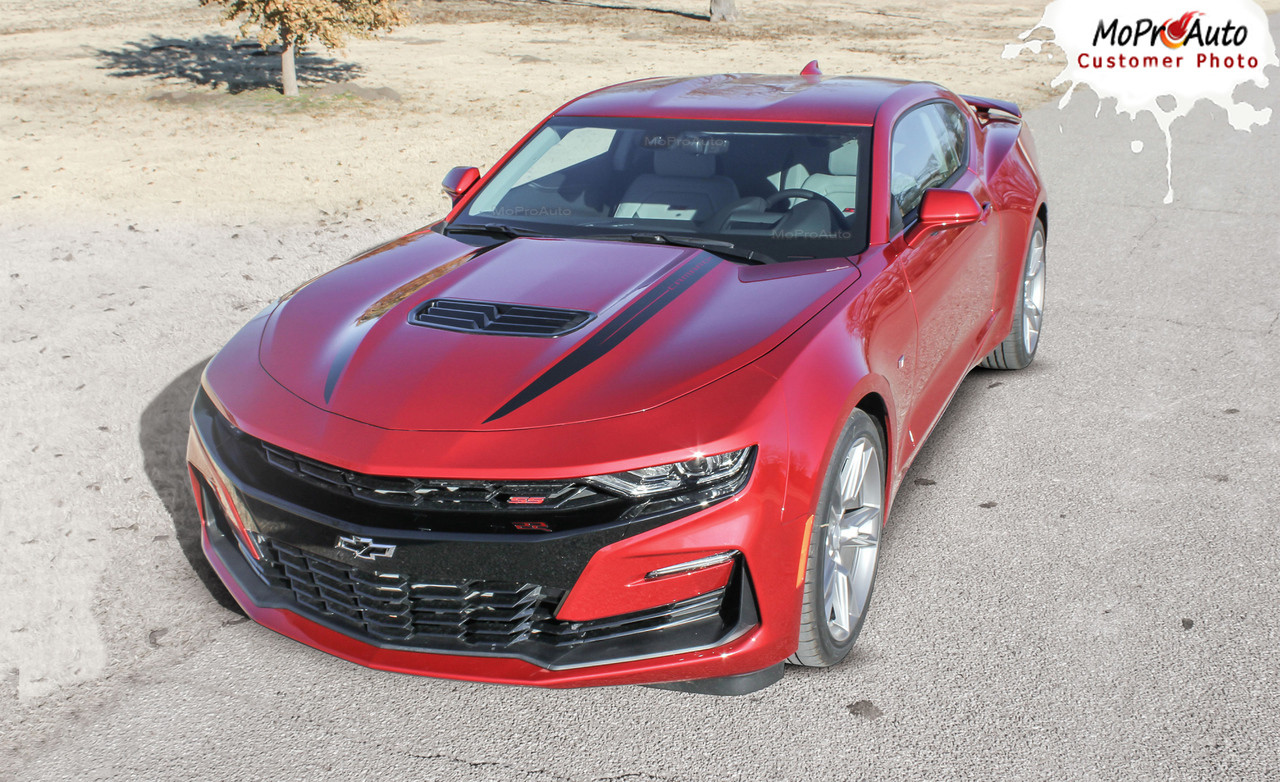 2019 2020 Chevy Camaro Decklid Decals, Camaro Trunk Stripes, Camaro Vinyl Graphics Kits
