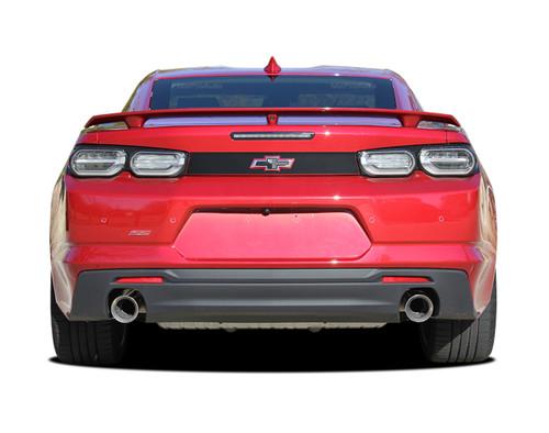 2019 2020 Camaro Rear Decklid BLACKOUT Decal : Chevy Camaro Trunk Blackout Stripe Vinyl Graphics Kit (M-PDS-5988)