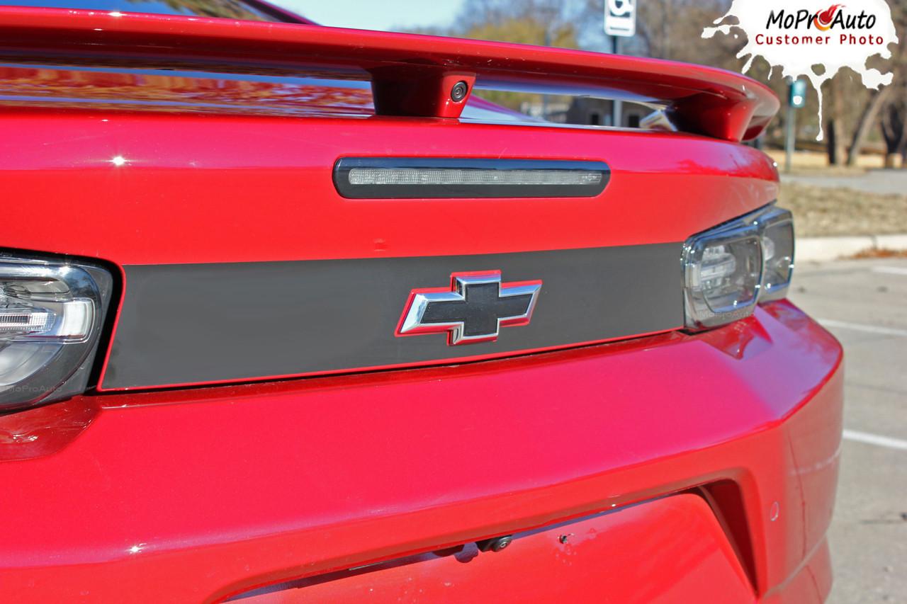 2019 2020 Chevy Camaro Decklid Decals, Camaro Trunk Stripes, Camaro Vinyl Graphics Kits