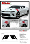 2019 2020 2021 Camaro Hood Decal HASHMARK : Chevy Camaro Stripes OEM Factory Lemans Hood to Fender Hash Vinyl Graphics Kit - Details