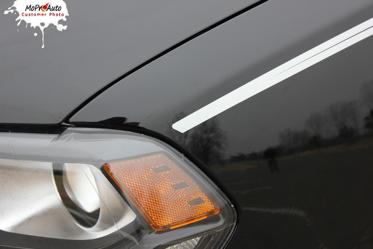 DURANGO RUNAWAY SIDES | 2011 2012 2013 2014 2015 2016 2017 2018 Dodge Durango Rear Quarter Panel Accent Blackout Vinyl Graphics Kit MoProAuto Pro Design Series
