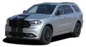REPLACEMENT SECTIONS FOR DURANGO RALLY : 2014-2019 Dodge Durango Racing Stripes Decals Vinyl Graphics Kit
