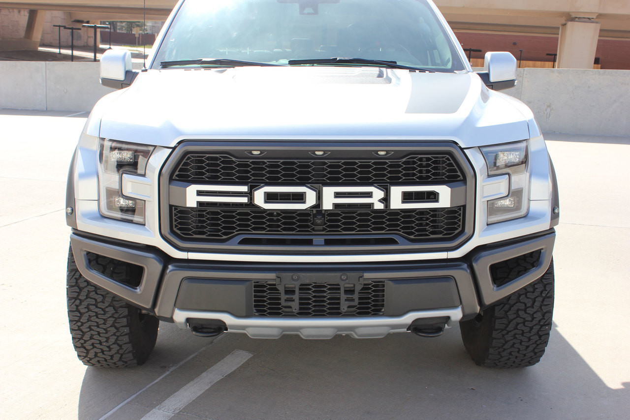 2018 2019 2020 Ford  Raptor VELOCITOR GRILL TEXT Vinyl Graphics and Decals Kit - MoProAuto Pro Design Series